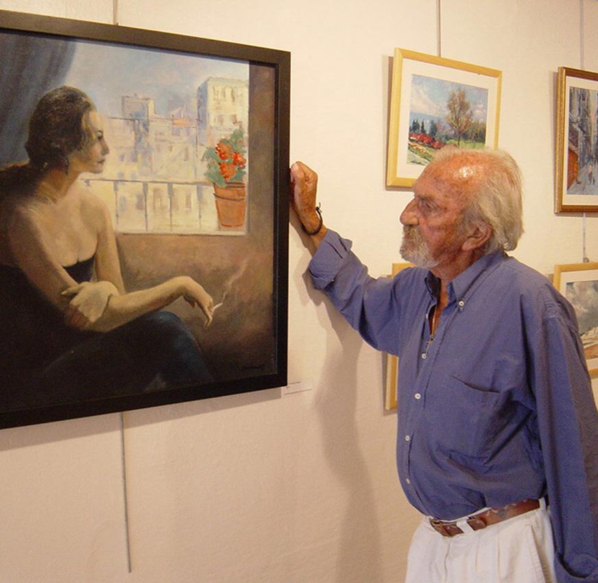 Exposició a Sant Pol  l'any 2004