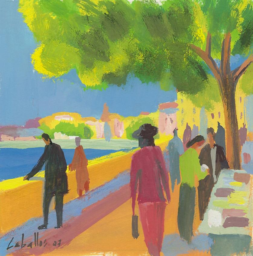 Lyon (mercado de libros) 12x12-G07