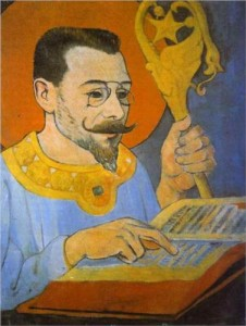 "Paul Sérusier""Retrato de Paul Ranson"""