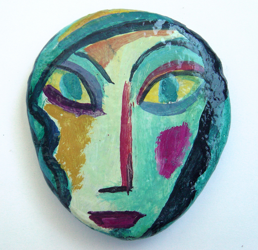 piedras pintadas guillermo mart ceballos pintor