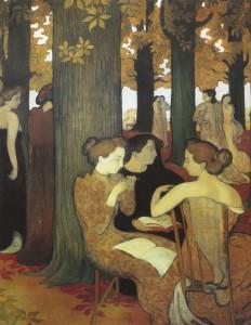 Maurice Denis Les Muses au bois sacre, 1893