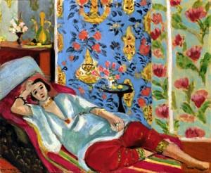 Henri Matisse Odalisque à la culotte rouge, 1914-15