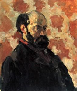 Paul Cézanne Portrait de l'artiste au fond rose, c.1875