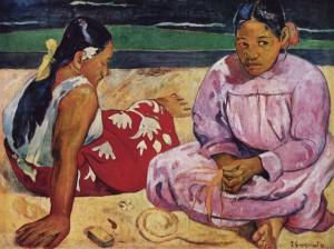 Paul Gauguin Femmes de Tahiti ou Sur la plage, 1891