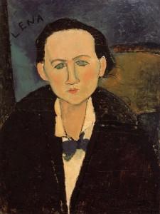 Modigliani-Elena-Povolozky-1917