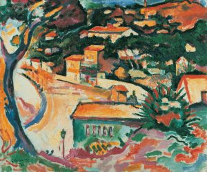 Georges Braque. L'Estaque, 1906