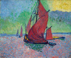 André Derain. Les Voiles rouges, 1906
