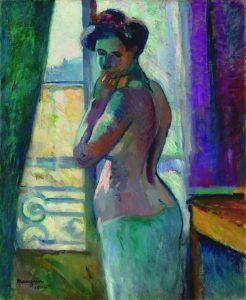 Henri Manguin. Devant la fenêtre, 1904