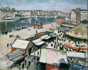 Albert Marquet. Verbena en el Havre, 1906