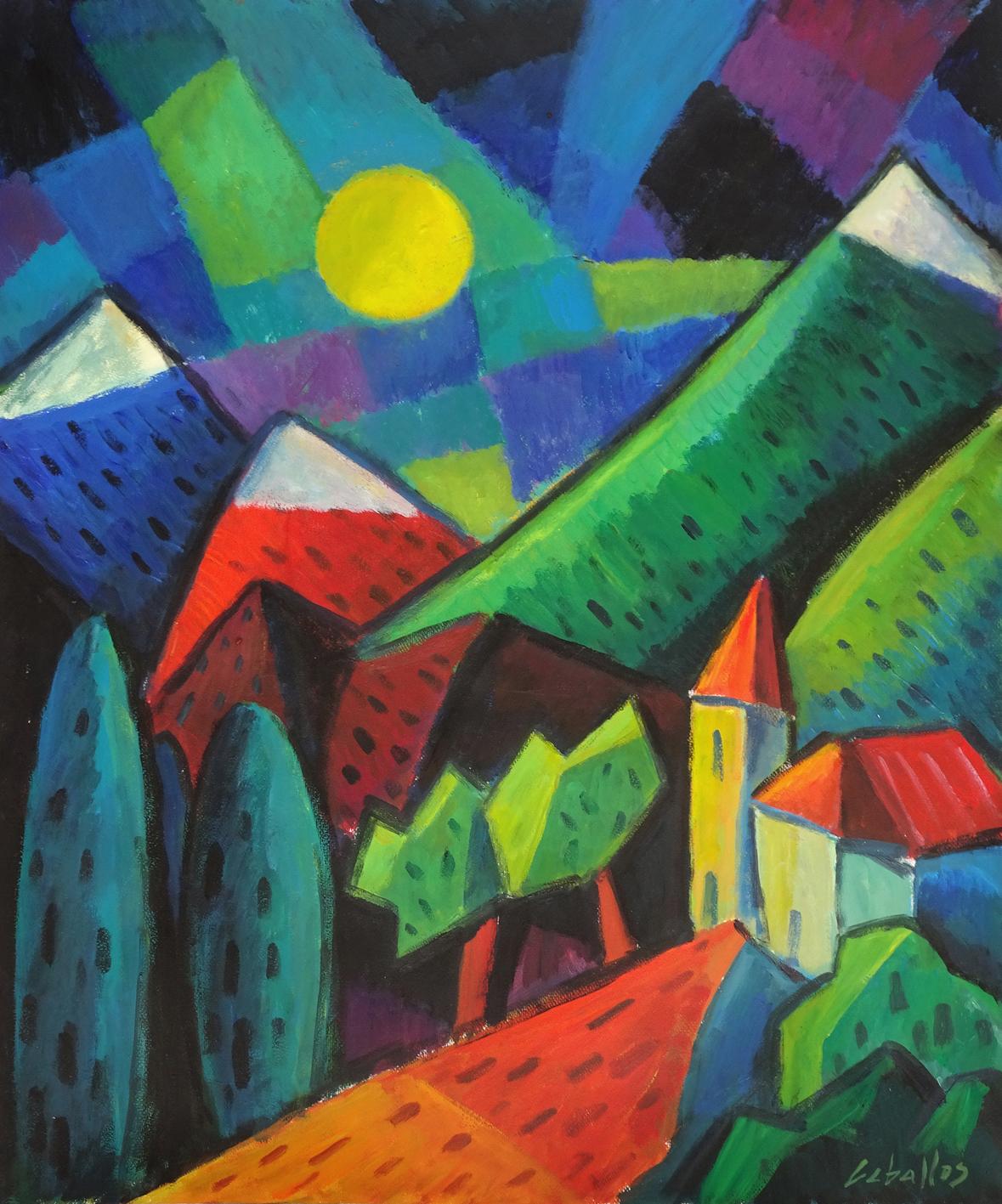 Obra fauvista y expresionista de Martí Ceballos ...