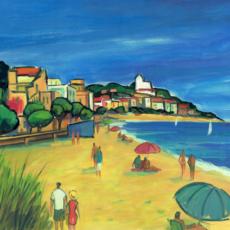 La playa de Sant Pol de Mar