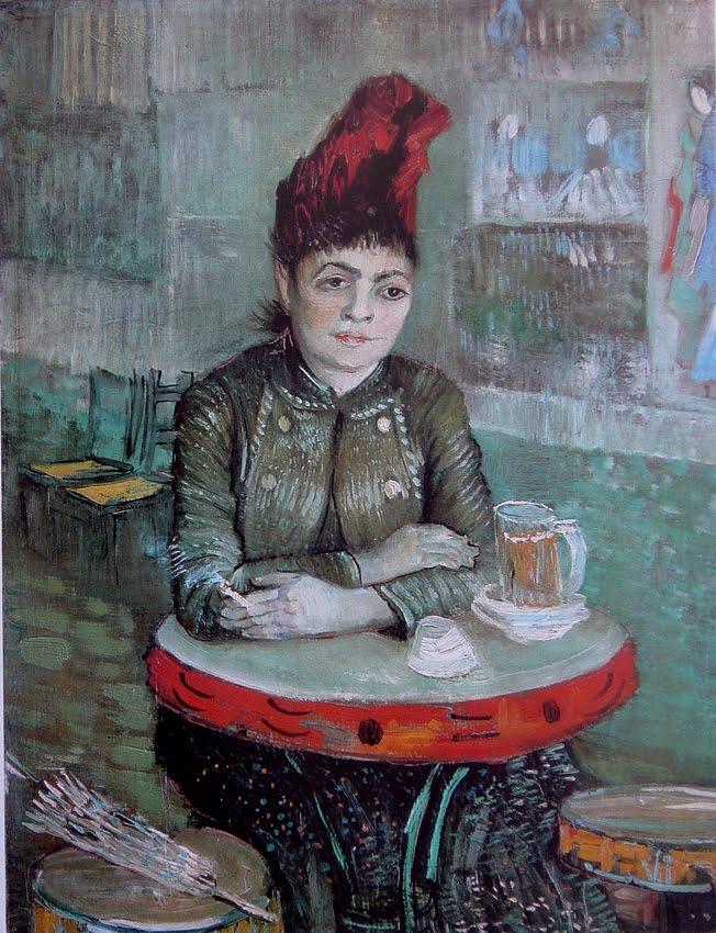 4 van gogh Agostina Segatori en el cafe