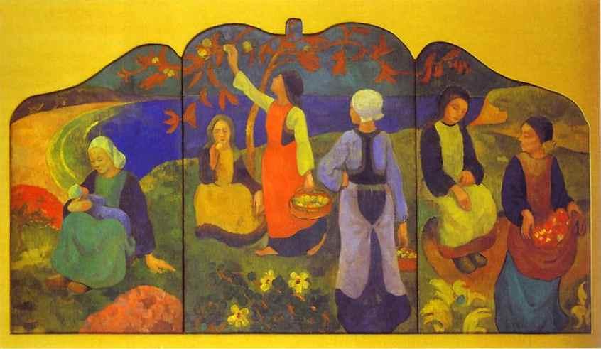 """Paul Sérusier""""The Apple Harvest"""""""