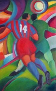 Cuadro fútbol Barça