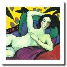 Desnudo con almohadones