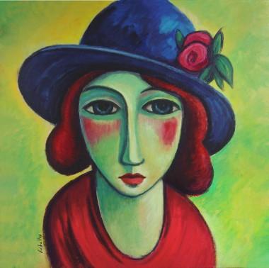 Pintura, retratos femeninos, expresionismo, fauvismo