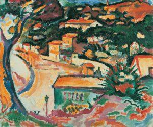 Georges Braque. L'Estaque, 1906