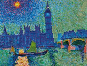 André Derain/ Big Ben, Londres
