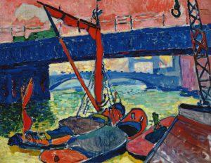 André Derain. Barques sur la tamise