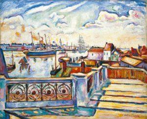 Émile Othhon Friesz. Le Port d'Anvers, 1906