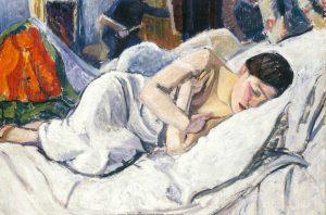 Jean Puy. Petite faunesse dormant, 1906
