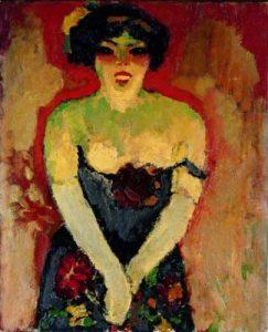 Kees Van Dongen. Chanteuse de cabaret, 1910