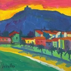 Collioure al atardecer (Francia)