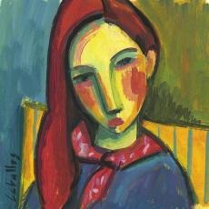 Chica con pañuelo