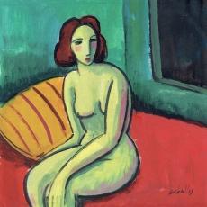 Desnudo solitario